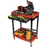 Performance Tool W54032 Two shelf Compact Mechanic's Shop Cart With Store Tray (Tamaño: Compact Mechanic's Shop Cart)