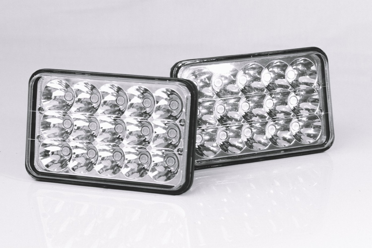 Led Headlights Sealed Beam Tractor : Cree led headlight bulb sealed beam crystal clear