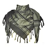 new product 584ce 5fe3d Explore Land 100% Cotton Military Shemagh Tactical Desert Keffiyeh Scarf  Wrap (Camouflage)