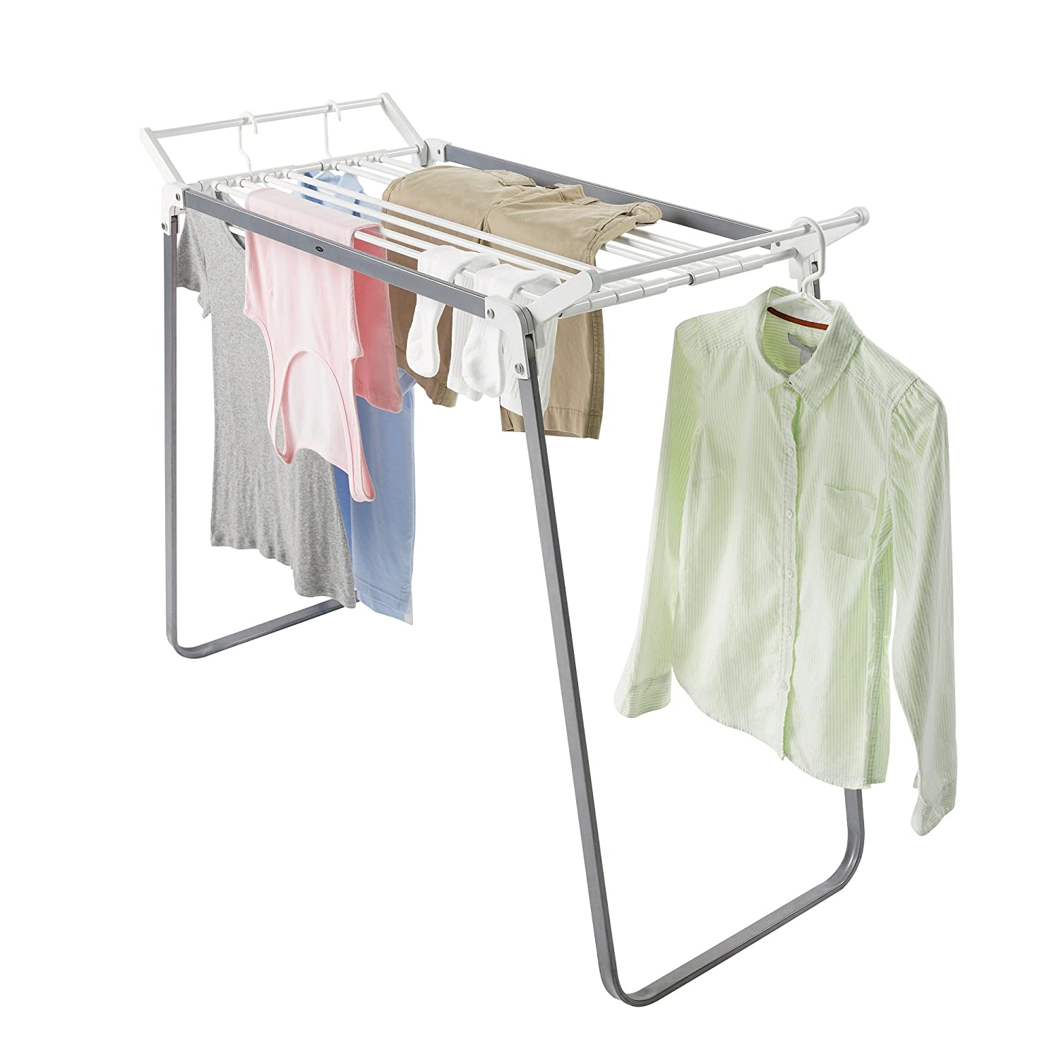 Clothes drying rack for small spaces - Clothes storage for small spaces model ...