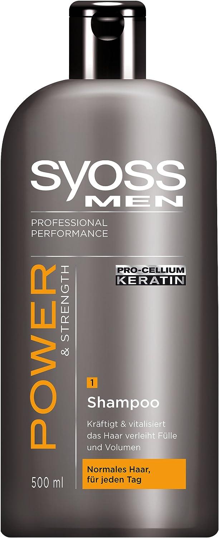 Syoss Shampoo Men Power, 6er Pack (6 x