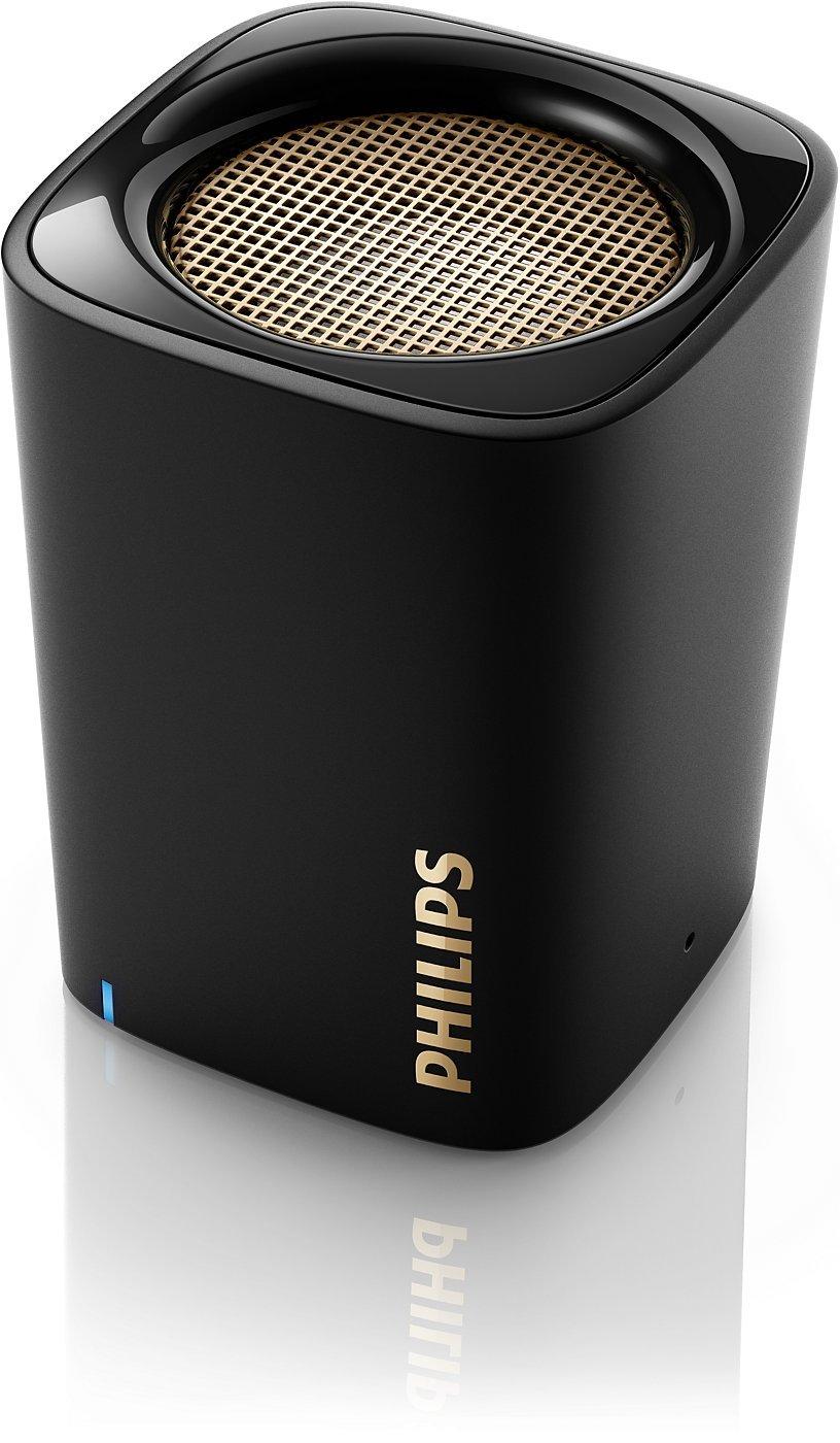 Philips Wireless Mini Portable Bluetooth Speaker bluetooth гарнитура philips shb5850 черный shb5850bk 51