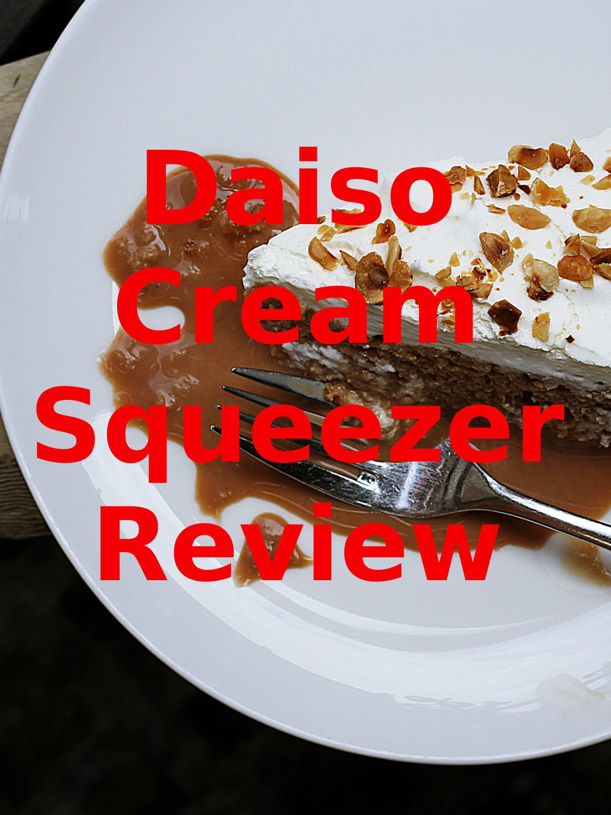 Review: Daiso Cream Squeezer Review
