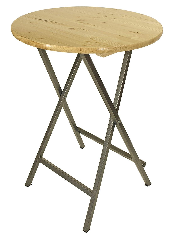 GARDENho.me Stehtisch BAYREUTH Tisch Gartentisch Holztisch Klapptisch Gartenmöbel Natur 81481 bestellen