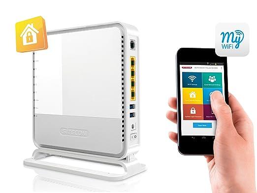 Sitecom WLM-6600 Routeur Wi-Fi 900 Mbps Blanc
