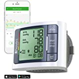 Blood Pressure Cuff Wrist Bluetooth - BP Monitor Full Automatic - FDA Approved - Large Screen Display - Professional BP Machine - Clinical Accuracy - BPM-337BT-US-1 by iProven