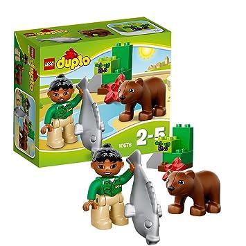 Lego Duplo Legoville - 10576 - Jeu De Construction - Le Repas De L'ours Brun