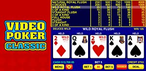Video Poker Classic from Tapinator