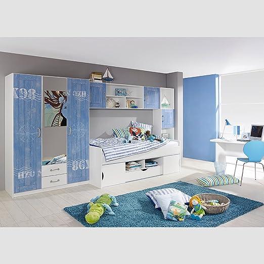 rauch a9n30 jugendzimmer torben4 teilig 389 x 198 x 94 cm. Black Bedroom Furniture Sets. Home Design Ideas