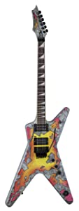Dean Guitars DB SLEDGE Electric Guitar    Concete Sledge  Graphic front and back choose using other related content