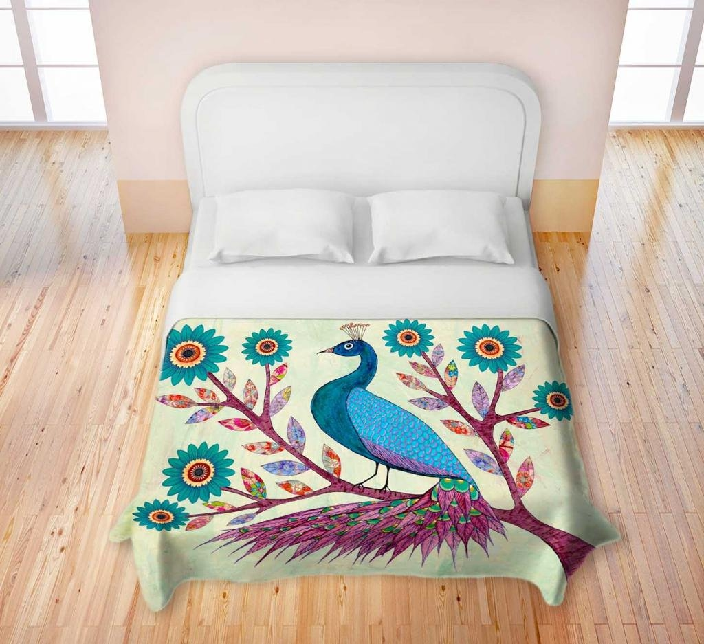 Peacock bedding is gorgeous and popular for Peacock bedroom ideas