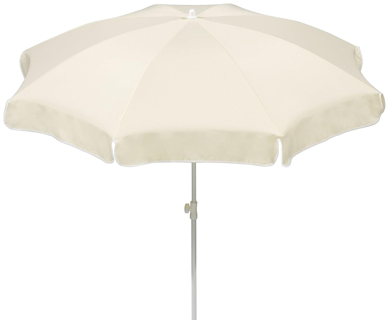 Schneider Sonnenschirm Ibiza, natur, ca. 240 cm Ø, 8-teilig, rund jetzt kaufen