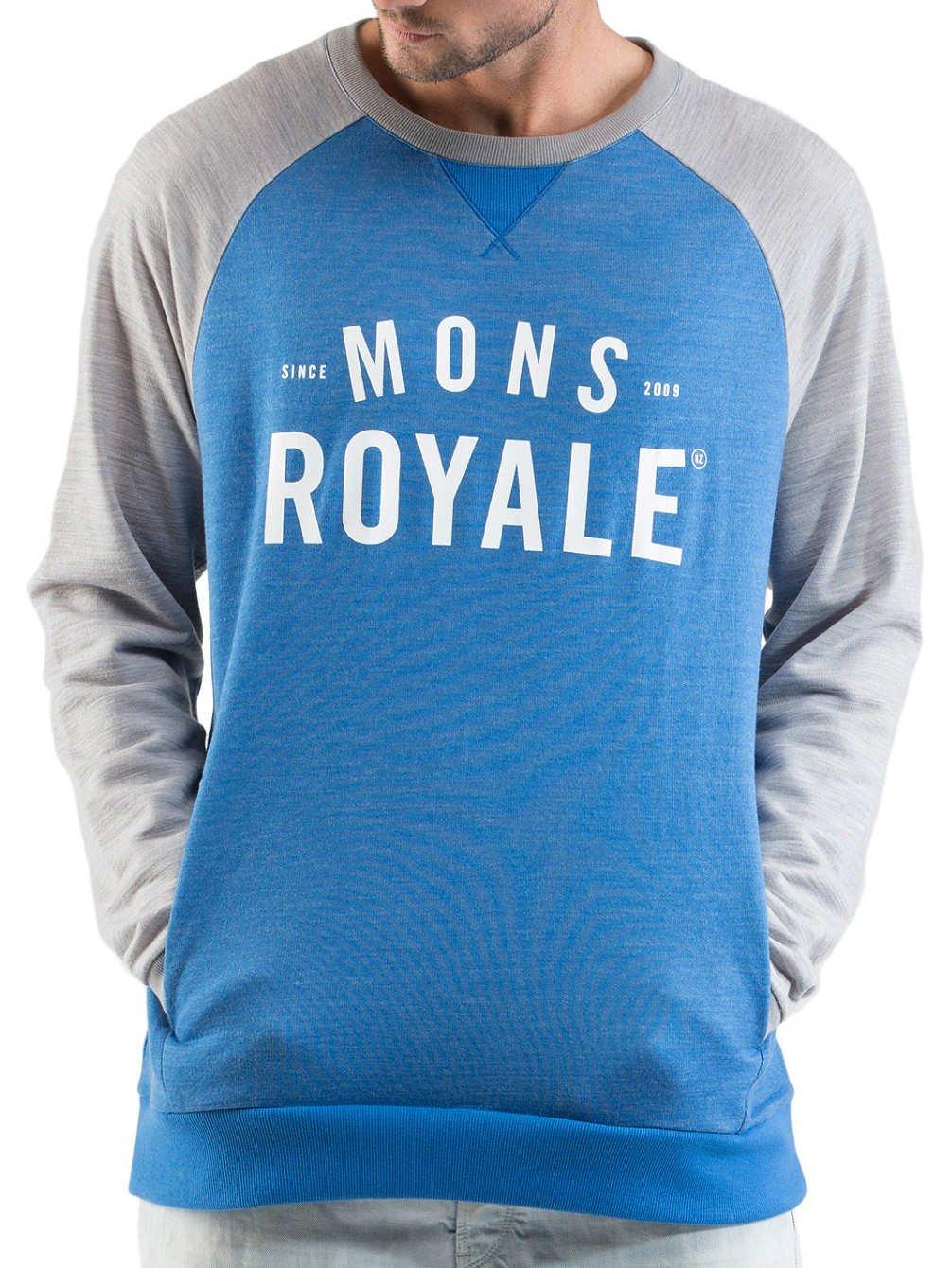 Mons Royale Herren Mid Weight Tech Sweat online bestellen
