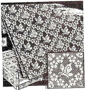 Filet Crochet Butterfly Square Alice Brooks Vintage Mail Order Pattern