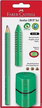 Faber Castell Druckbleistift GRIP PLUS 1,4mm weiß  5er Set