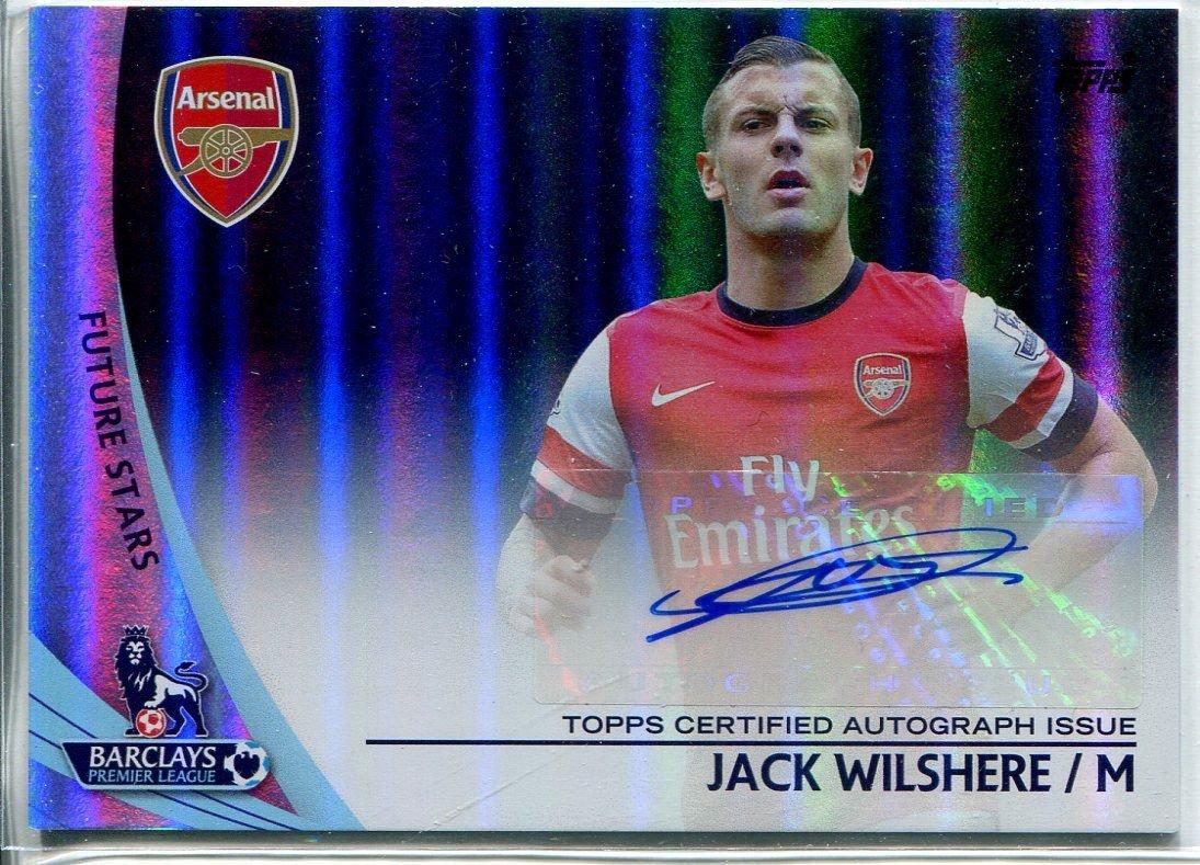 Topps Platinum Football Premier Gold 13/14 (DE) Parallel Autograph SP-JW Jack Wilshere online bestellen