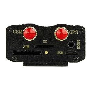 GPS Tracker Coban TK103A, para vehículo, GPRS SMS, tiempo real, ranura tarjeta SD, cuadribanda, aviso SMS antirrobo por movimiento