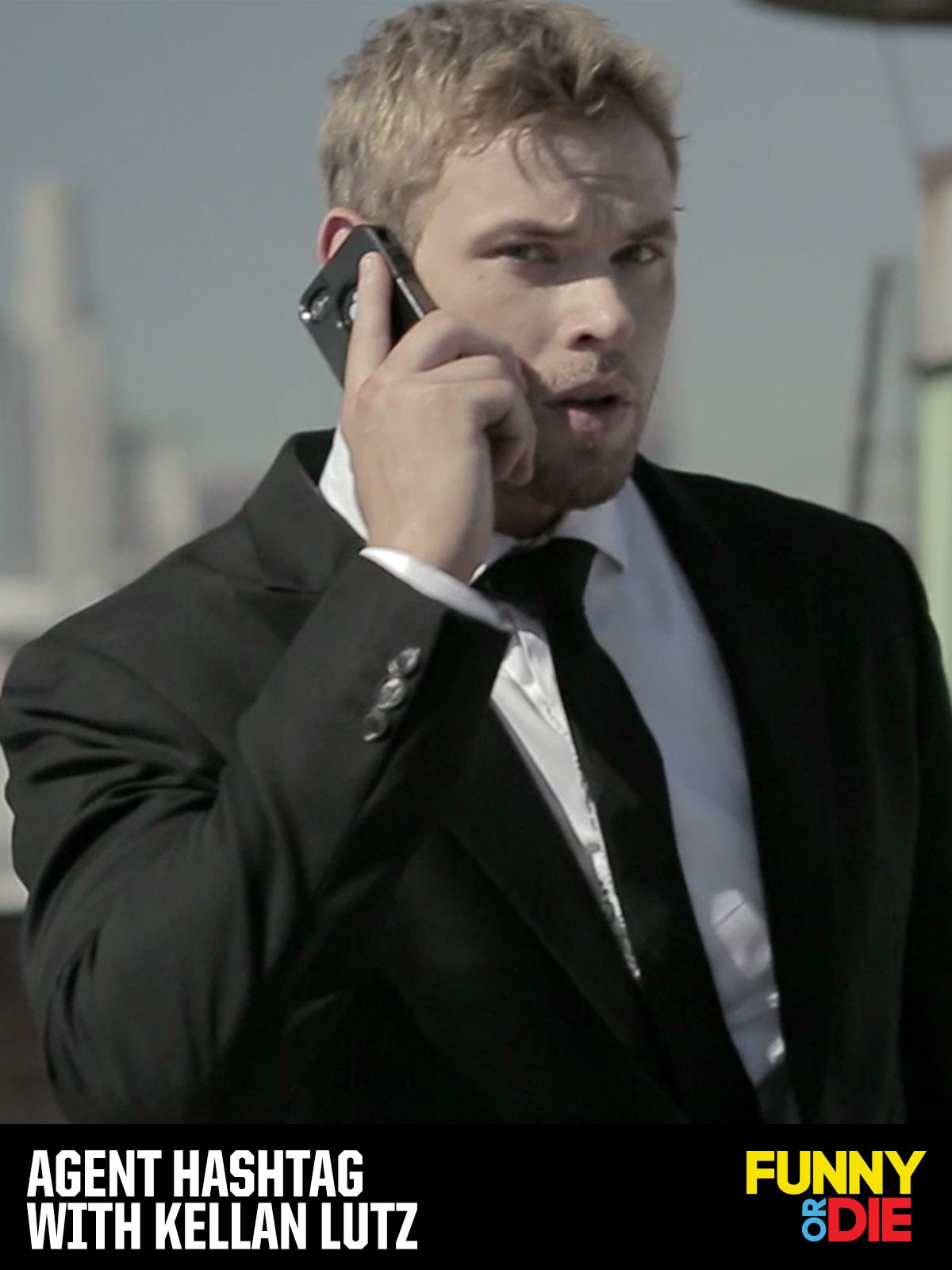 Agent Hashtag with Kellan Lutz