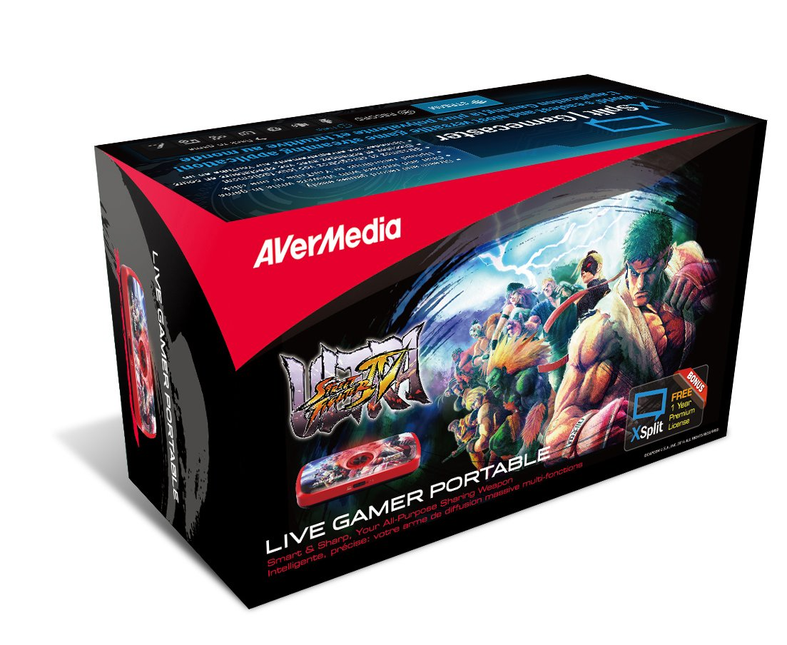 avermedia live gamer portable 1080p hd game capture and streaming for ps4 ebay. Black Bedroom Furniture Sets. Home Design Ideas