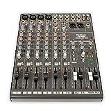 Podium Pro MX1204 12 Channel Pro Audio Mic/Line Stereo Mixer Console (Color: Black)