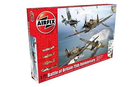 Airfix - Ai50173 - Coffret Cadeau - Bataille D'Angleterre - 75ème Anniversaire - 179 Pièces - Échelle 1/72