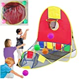 Children Play Tent Ball Scoring Tent Game House Playhouse Basketball Basket Tent Beach Lawn Tent Ball Pool Indoor Outdoor Foldable Tent