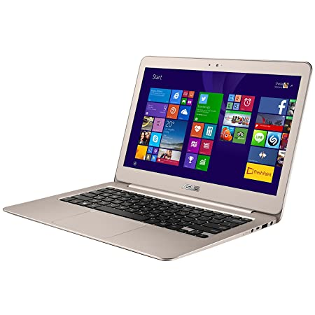 "PC Portable - ASUS Zenbook UX305FA-FC133T Gold - Intel Core M-5Y10 4 Go SSD 128 Go 13.3"" LED Full HD Wi-Fi AC/Bluetooth Webcam Windows 10 Famille 64 bits (garantie constructeur 2 ans)"