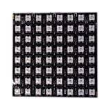 Jercio Square SK6812 LED Programmed Panel Screen SK6812 IC Inside SMD 5050 LED Digital Flexible Individually Addressable Color DC 5V (8x8 Pixels Screen) (Color: 8x8 Pixels Screen)