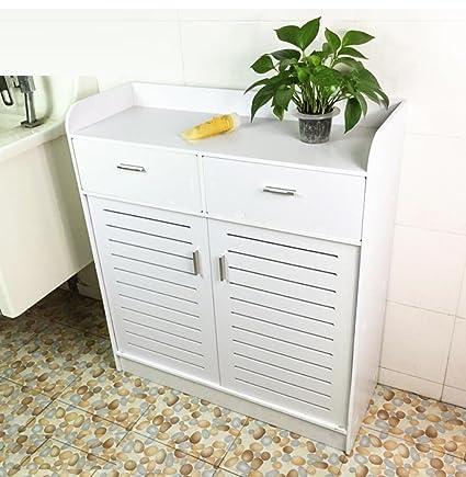GY&H Mobili bagno lato armadio piano armadi camera da letto, armadietti cabinet impermeabile di scaffali armadio bagno,B