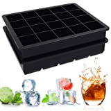 Ouddy 2 Pack Silicone Ice Cube Trays, 1
