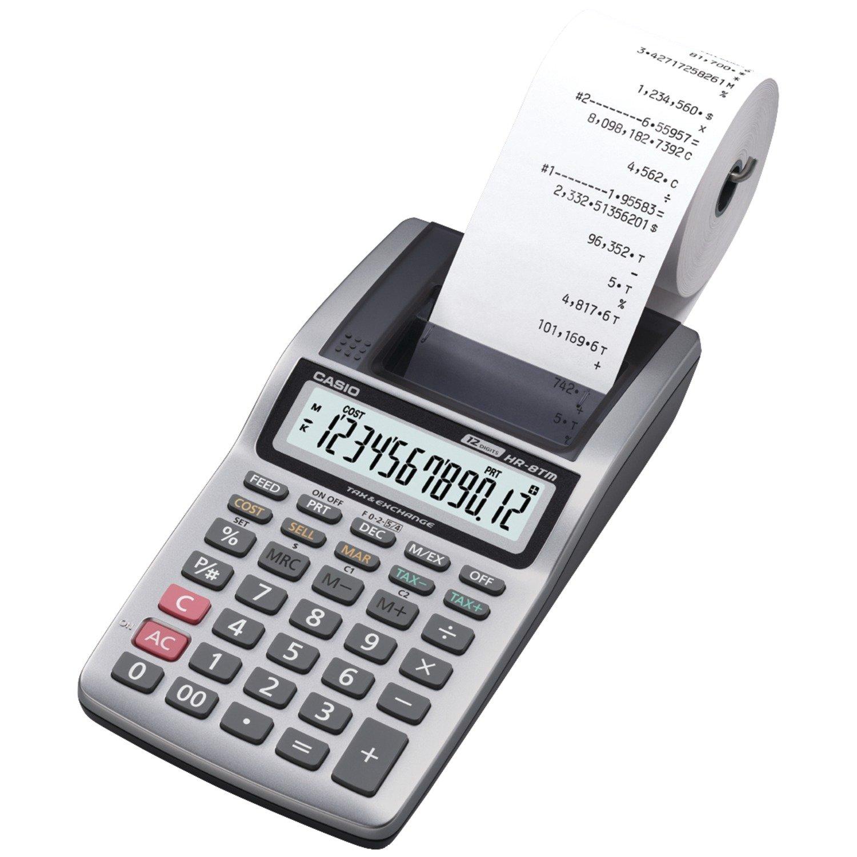 Amazon Canada Casio Portable Mini Printing Calculator