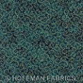 Royal Peacock by Hoffman Quilt Fabric Fat Quarter