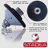 STADEA Diamond Profile Wheel / Profile Grinding Wheel 45 degree / Bevel 25 MM 1