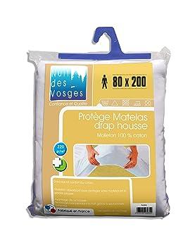 6 nuit des vosges 2035391 2035391 aubin prot ge matelas absorbant molleton coton molleton. Black Bedroom Furniture Sets. Home Design Ideas