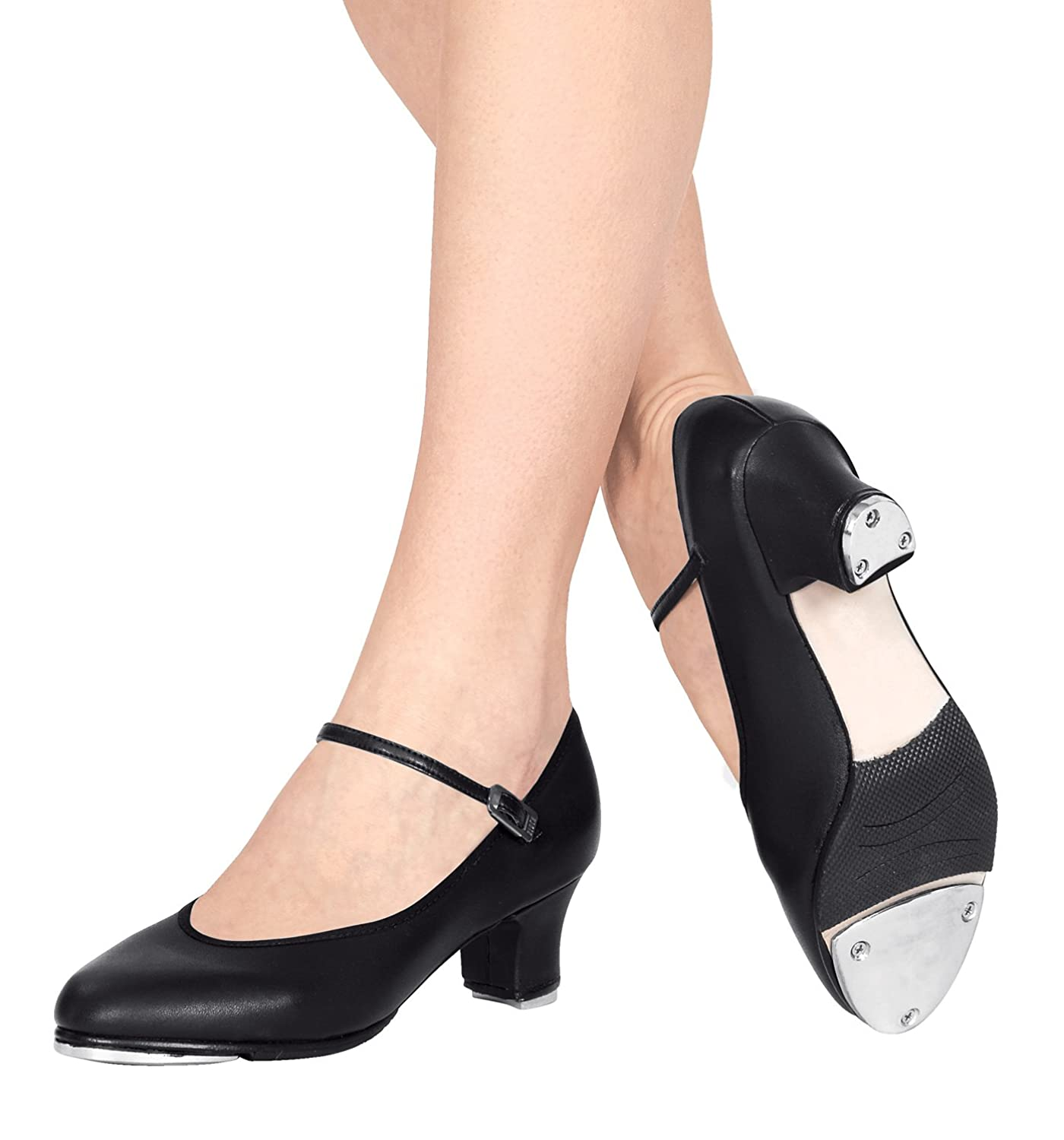 Adult 1.5 Heel Baby Louis Character Tap Shoes,T9800