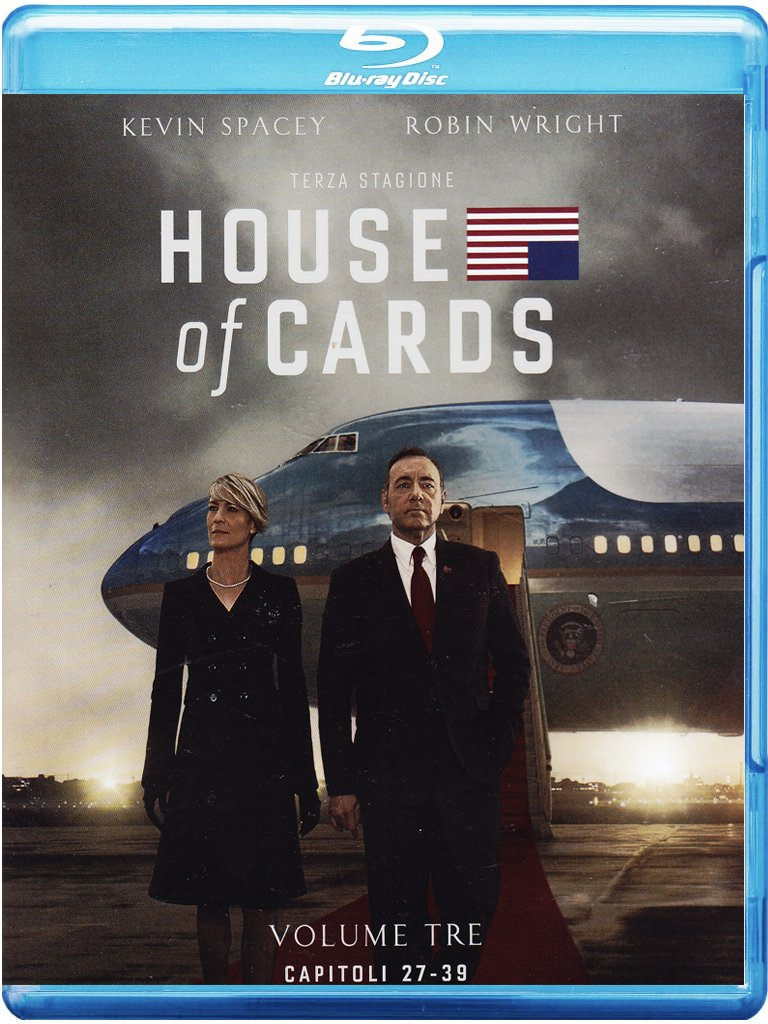 House Of Cards - Stagione 03 (4 Blu-Ray) FULL Bluray AVC DTS HD MA