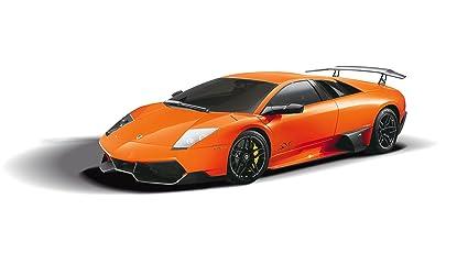 Jamara - 403901 - Maquette - Voiture - Lamborghini Murcielago Lp670-4 - Orange - 3 Pièces