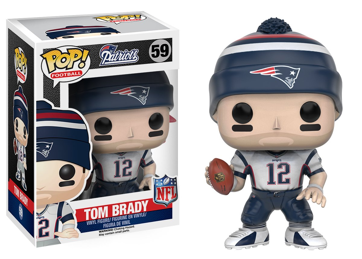 Tom Brady Funko POP Action Figure