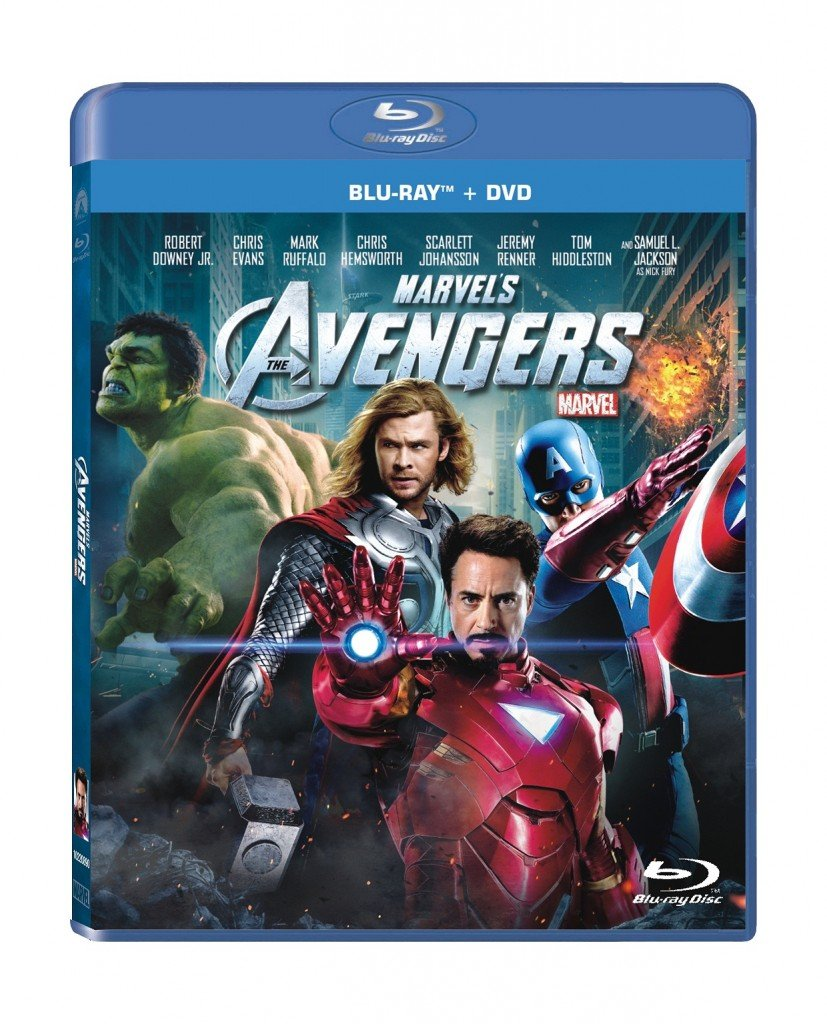 Avengers Blu-ray-DVD Combo Deal