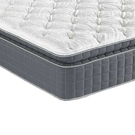 Sleep Inc. 14-Inch BodyComfort Elite 7000 Luxury Pillow Top Mattress, Queen