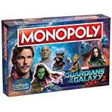 Guardians of The Galaxy Vol. 2 Monopoly (Color: Multi-colored, Tamaño: Pack 1)