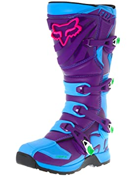 Bottes Motocross Fox Limited Edition Comp 5 Vicious Bleu