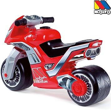 Rutschermotorrad, pneus larges, rouge, pour l'intérieur et l'extérieur - 69 x 51 cm draisienne/scooter/moto pour équilibre lernlaufrad draisienne pour enfant