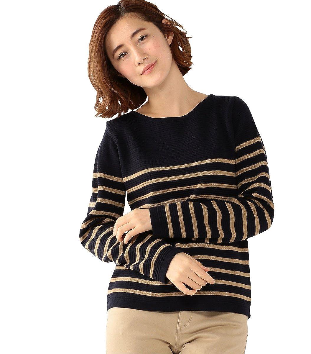 (ジボール)GIVORS ニットボーダープルオーバー : 服&ファッション小物通販 | Amazon.co.jp