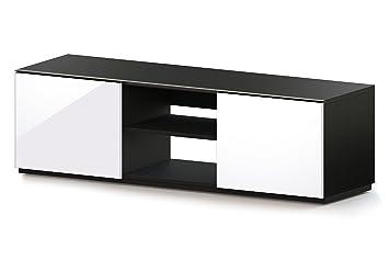 """Sonorous TRD 150-GBLK-GWHT Fernsehtisch fur 65"""" Fernseher"""