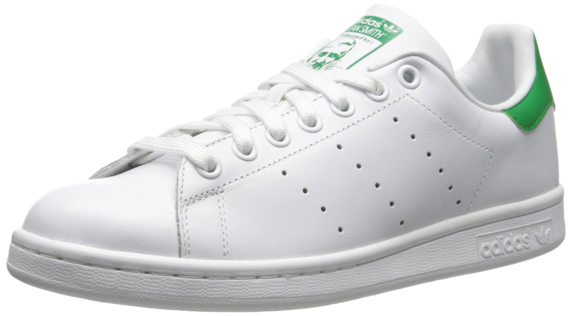 (アディダス) adidas オリジナルス Originals STAN SMITH スニーカー スタンスミス レザー メンズ M20324 ホワイト × グリーン (並行輸入品)