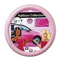 Pink cover fits 14.5 - 15.5 steering-wheels