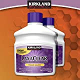 Kirkland LaxaClear, 90 Daily Doses, Polyethylene Glycol 3350 (2 Pack), Compare to Miralax Active Ingredient (Tamaño: 2 Pack)