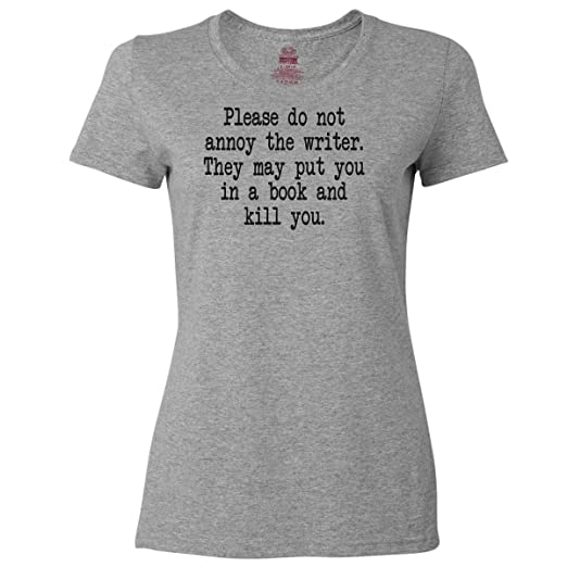 Top Five Funny T-Shirts For Women Writers