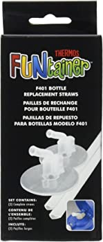 Thermos Replacement Straws for 12 Ounce Funtainer Bottle